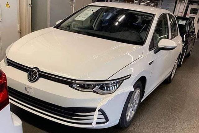 Novo VW Golf Mk8: vazam imagens da frente e interior